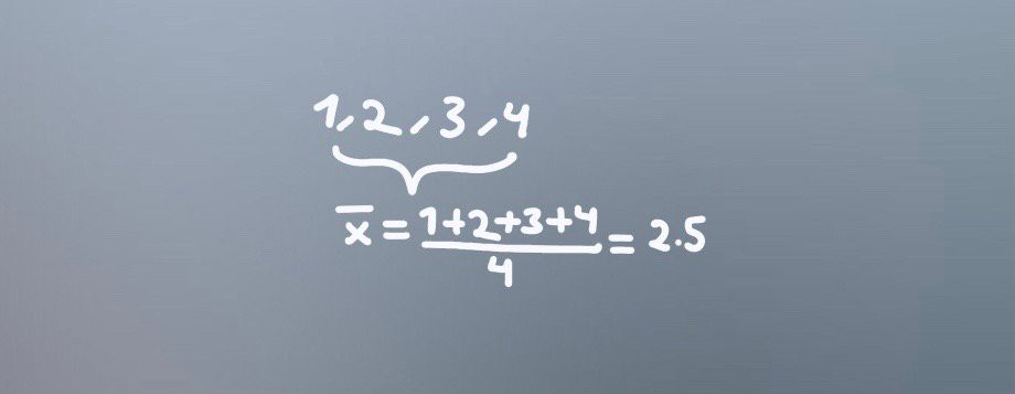 Mean calculation example