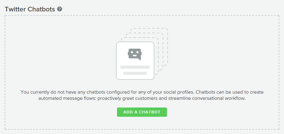 Building a Twitter chatbot with Sprout Social's Bot Builder