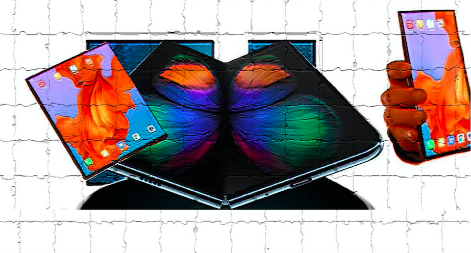 Foldable Phone graphic design created by me or Maciej Duraj. More at artisticcounterculture.com.