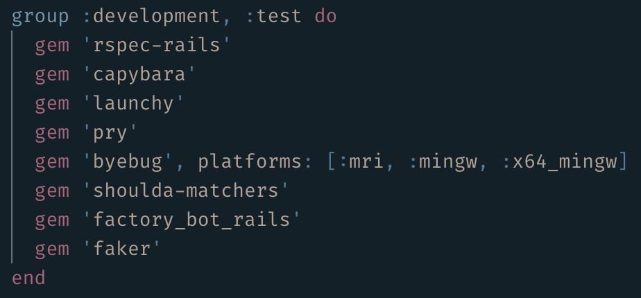 Crank out Tests with Factory Bot and Faker - JP Lynch - Medium