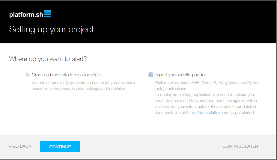 How Platform sh can simplify your contribution workflow on