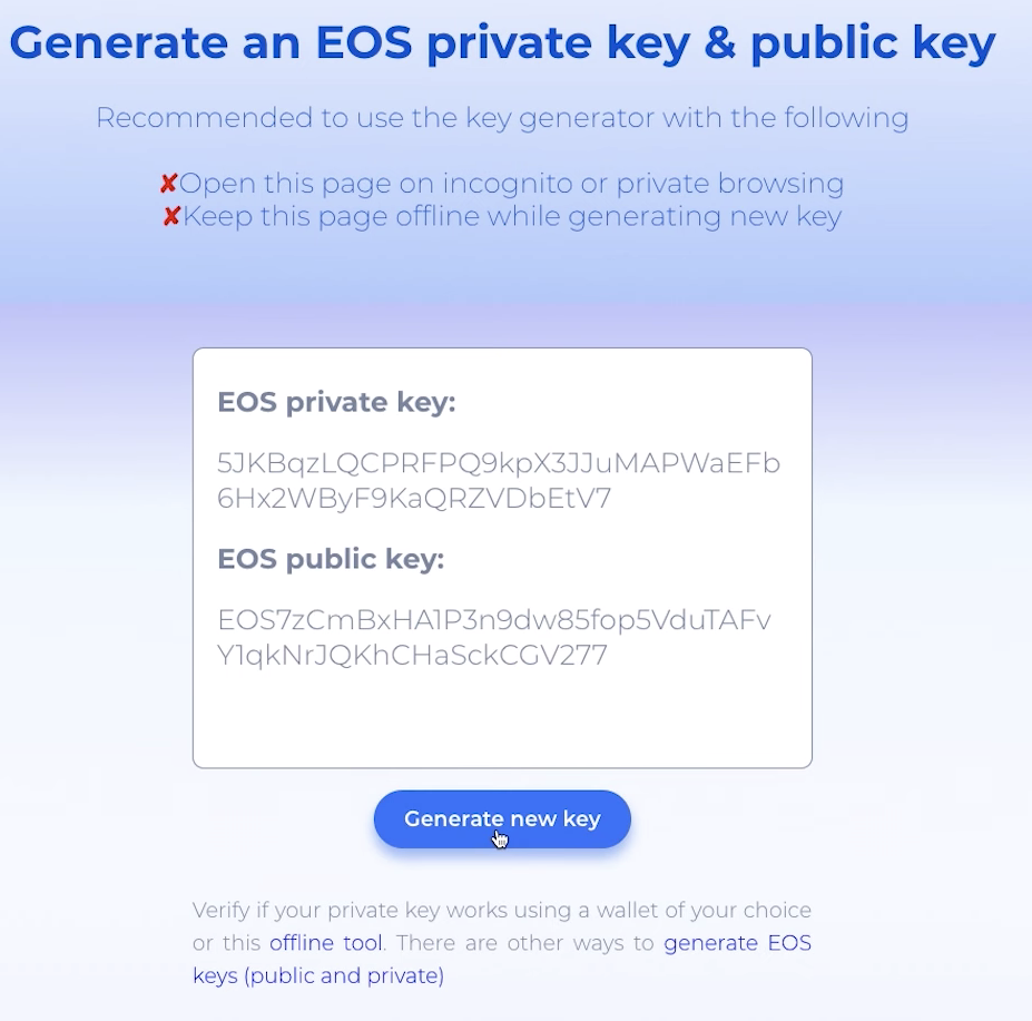 Change the Active Key Permissions with Bloks io — EOS Nation