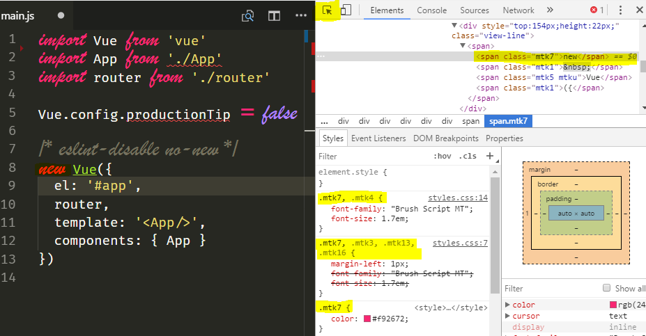 Customize Visual Studio Code for Multiple Fonts and styles