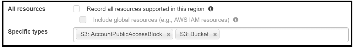 Setting AWS Config Rules