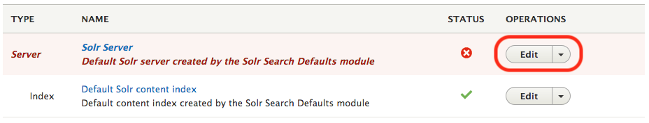 Install Solr 7 for Drupal 8 Search API on Ubuntu 16 04