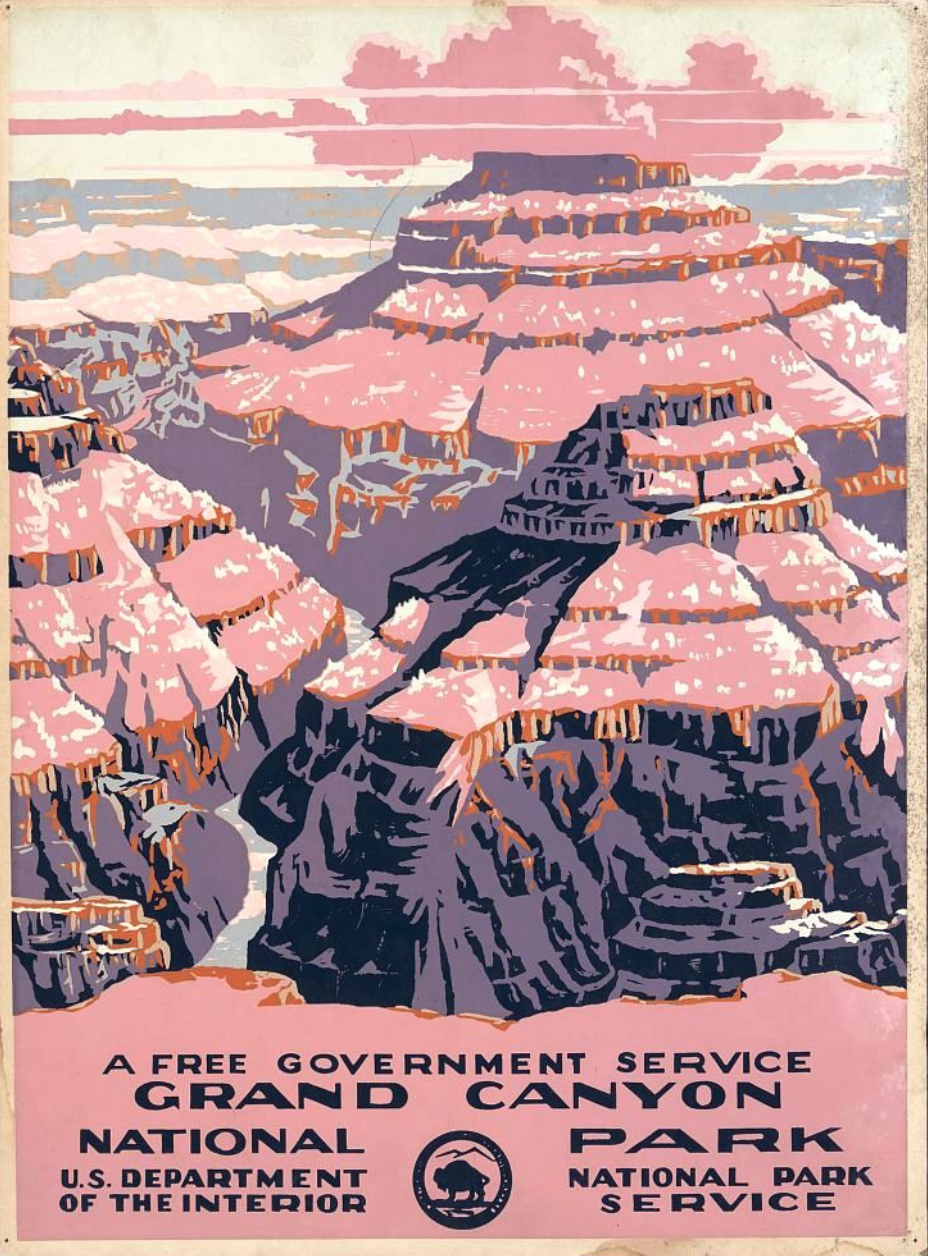 Siren Apparel And The Search For The Original 14 National Park Posters From The Works Progress Administration By Siren Apparel Siren Apparel Press Medium