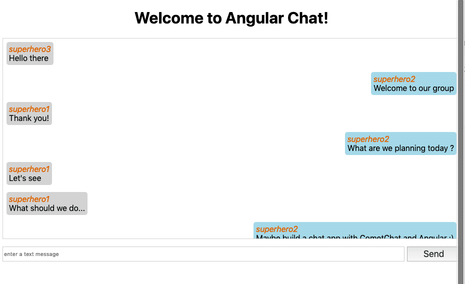 Build an anonymous group chat with Angular 7 - ITNEXT