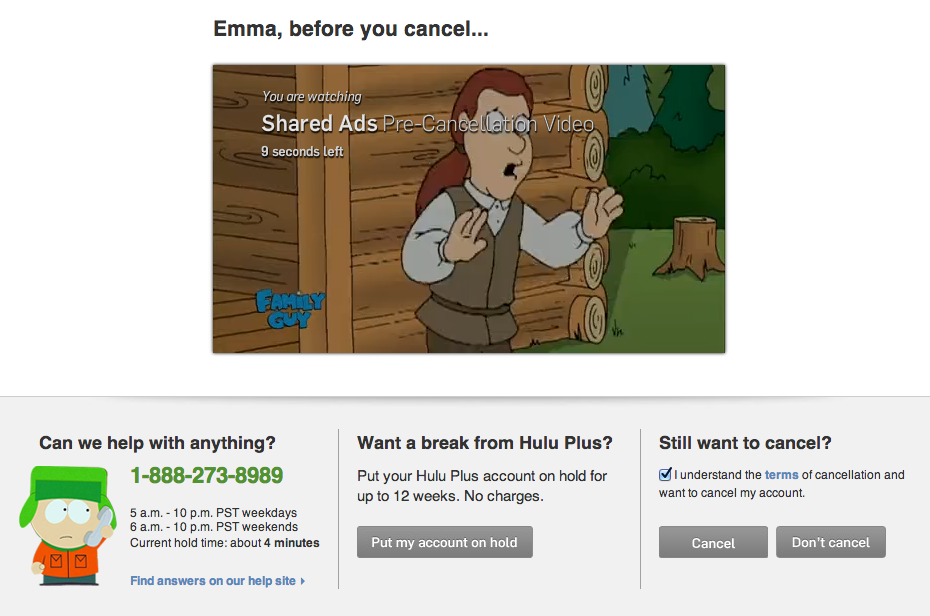 Why I Finally Cancelled My Hulu Plus Account (& Why You