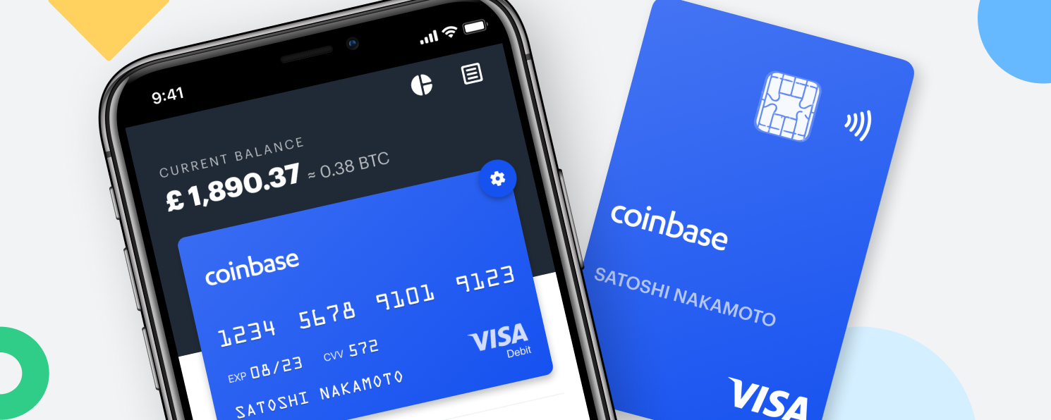 It's good news for Coinbase Card, a Visa debit card the company launched last year Coinbase
