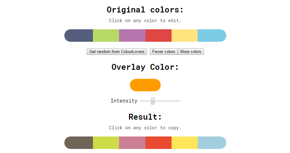 10 Cohesive Colors color scheme generator