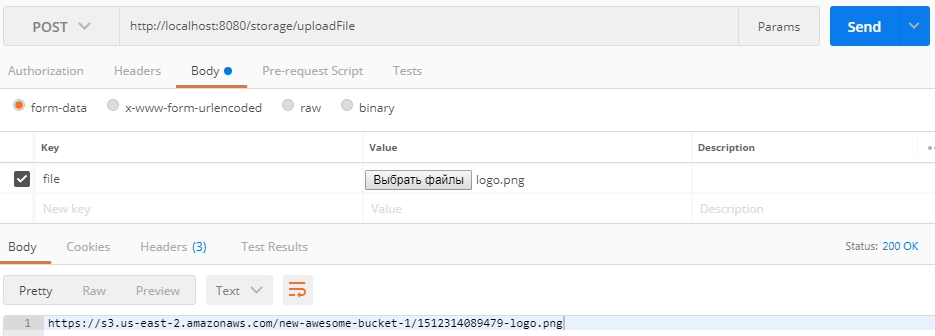 Uploading files to AWS S3 Bucket using Spring Boot - ORIL