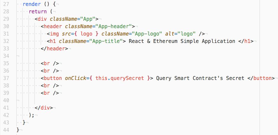 React & Ethereum: Getting Started With The Minimum Toolset