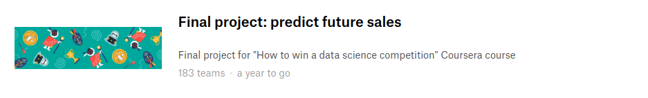 How to win Data Science competitions Online course - All
