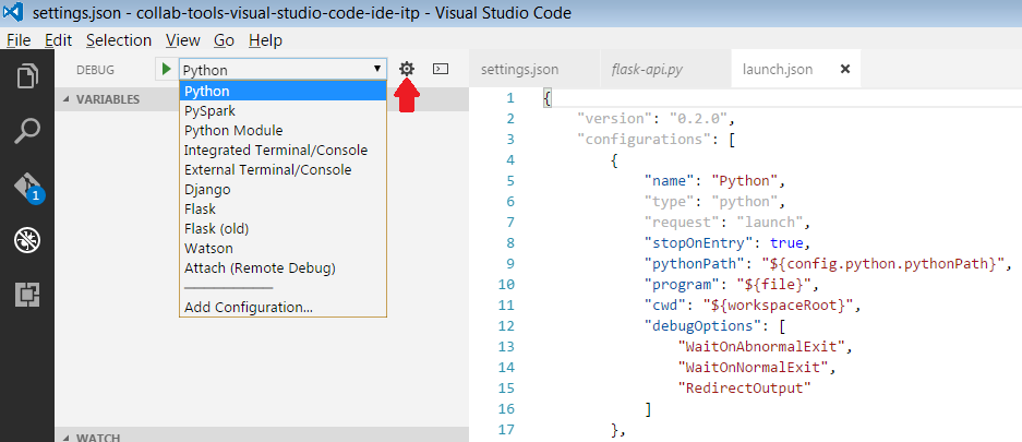 Running Python scripts from Visual Studio Code - Stève