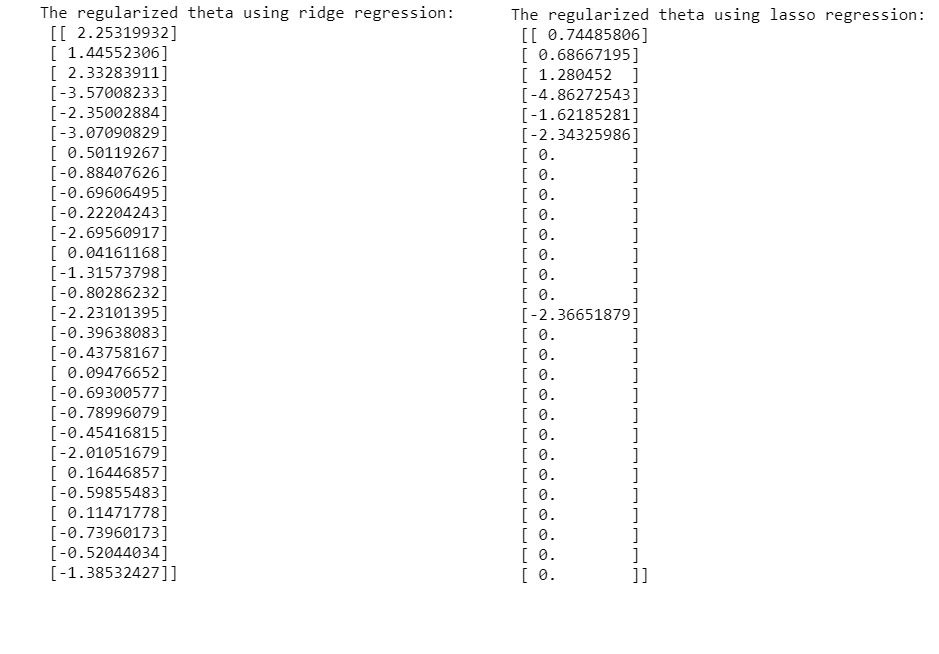 Andrew Ng's Machine Learning Course in Python (Regularized
