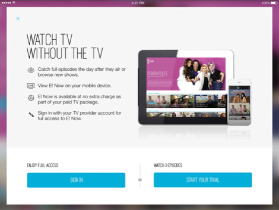 Watch Tv Without Tv Ad