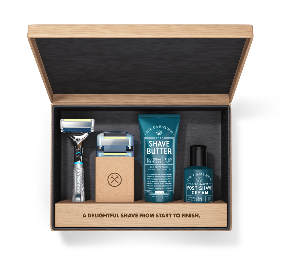 Shaving as a subscription — digital business models apply also to physical goods