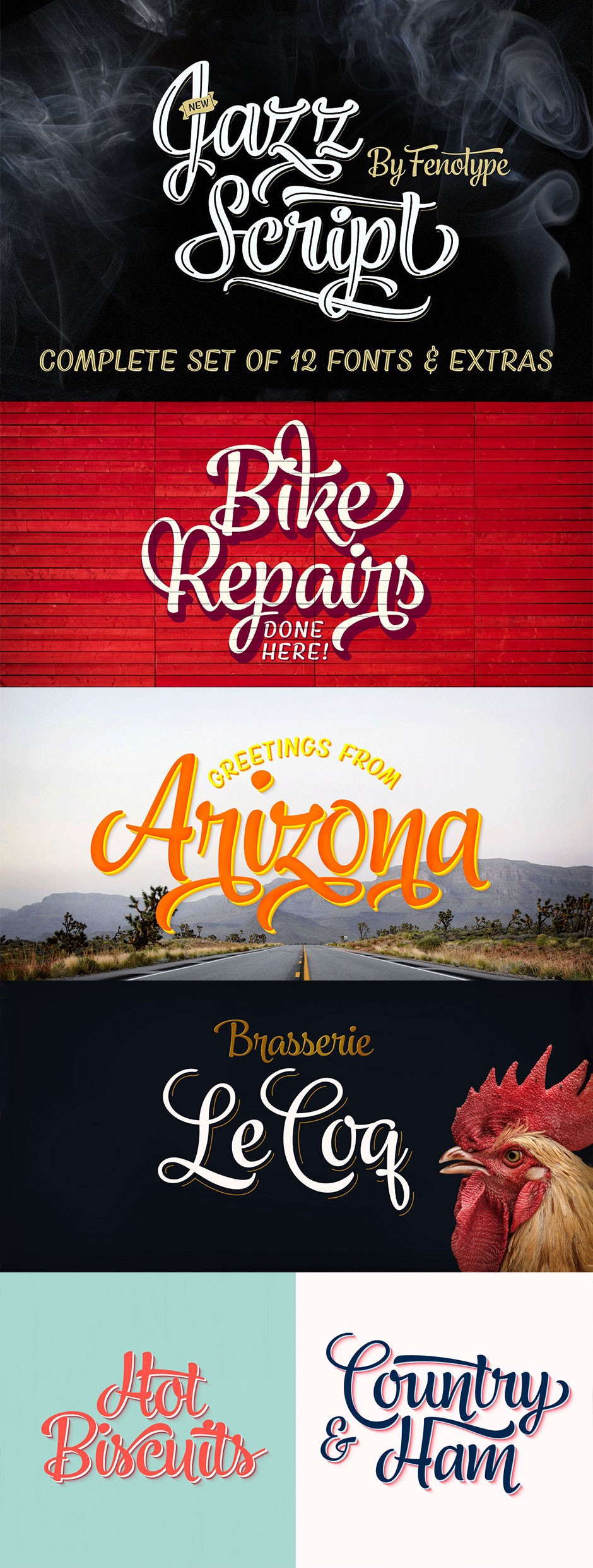 Expanded my typeface library with The Font Lover's Bundle
