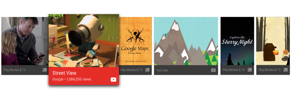 Designing for Android TV - Exploring Android - Medium