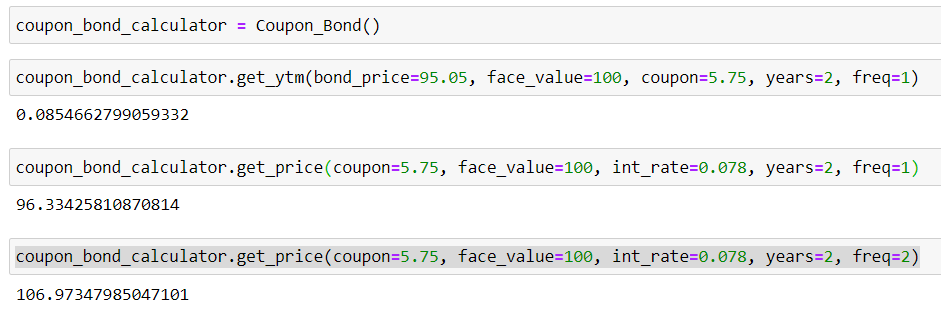 How To Calculate Yield To Maturity With Python By Gennadii Turutin Oct 2020 Medium