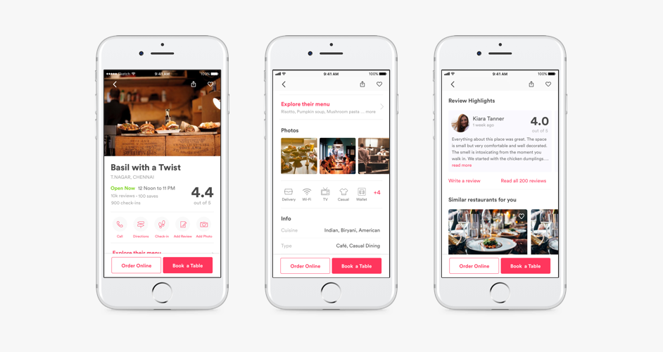 Zomato iOS App Redesign: Designing A More Convincing Experience