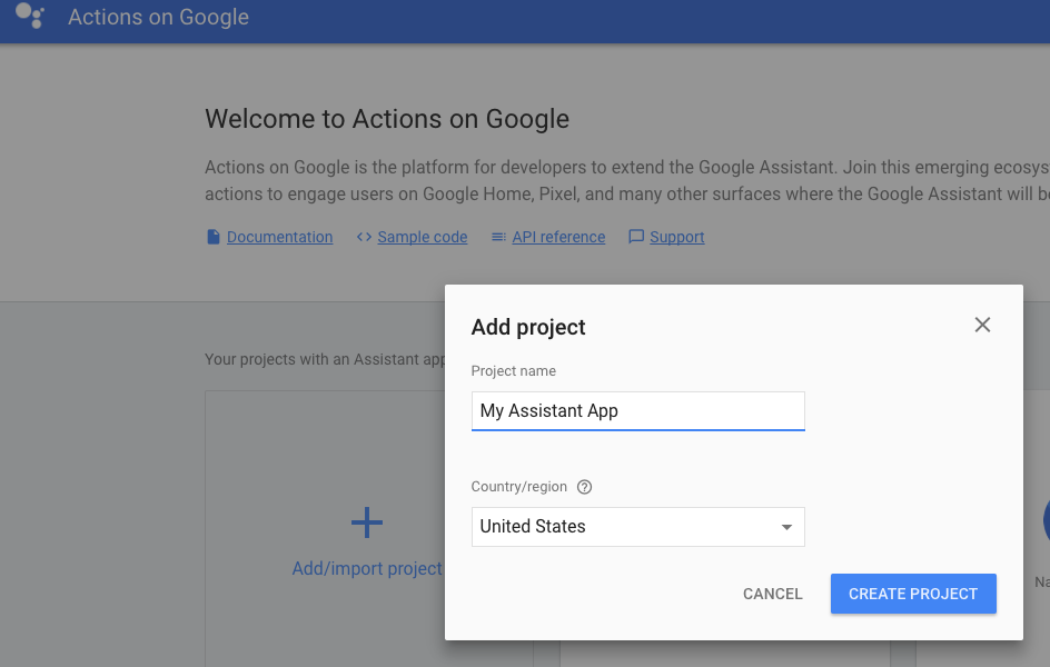 Deploy your Assistant app fulfillment webhook using Cloud