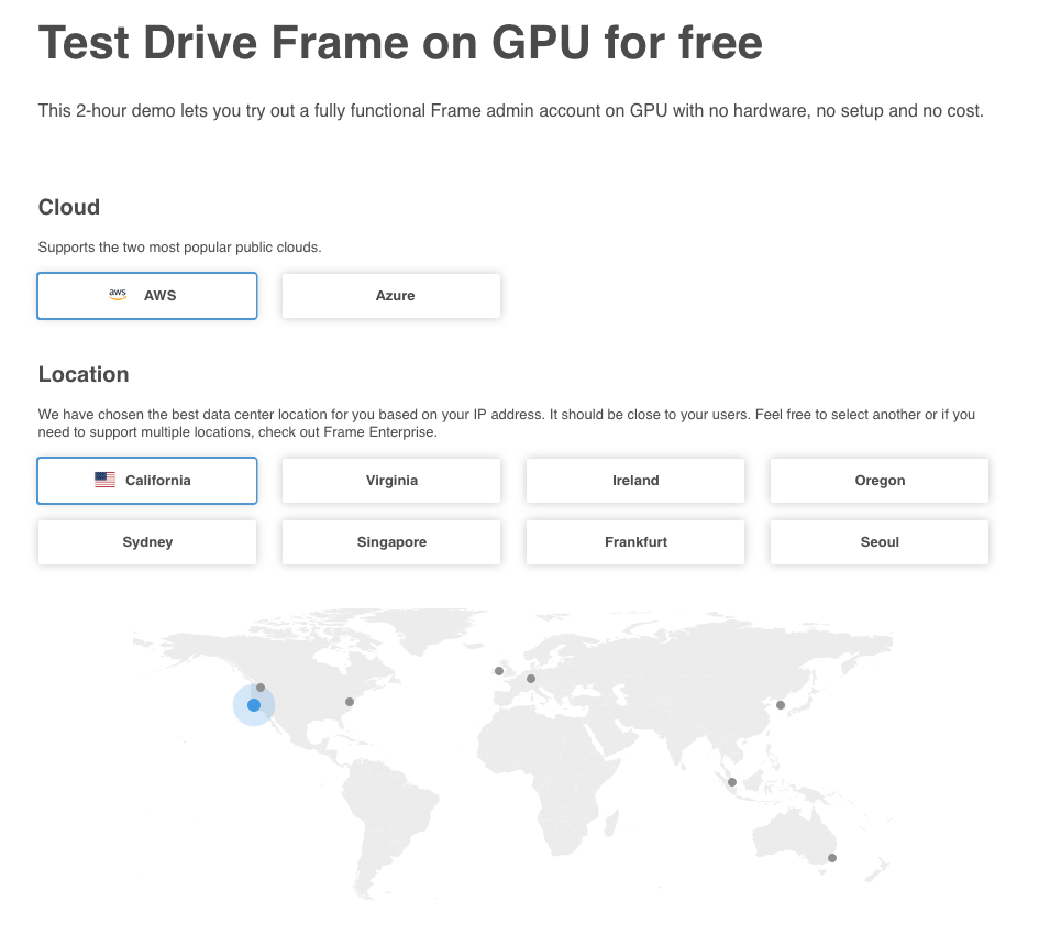 Try a GPU Cloud Workstation for Free - Speaking of the Cloud…