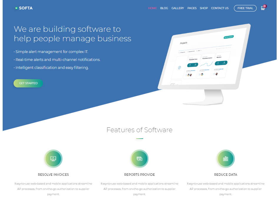 20 Software Company Website Templates 2020 By Jan Limark Colorlib Medium