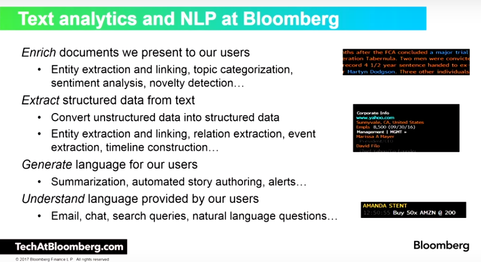 Building Commoditized Sophisticated Financial NLP