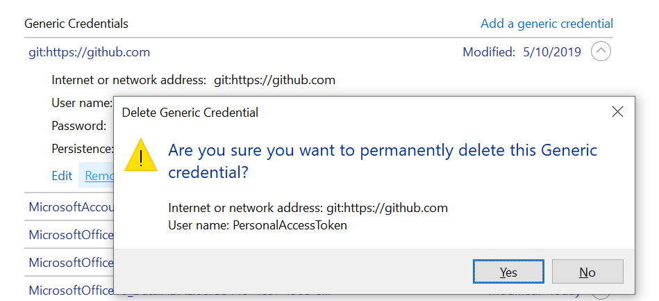 How to logout from git in windows - paachu - Medium