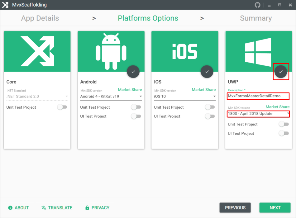 Implementing MasterDetail layout in Xamarin Forms by MvvmCross
