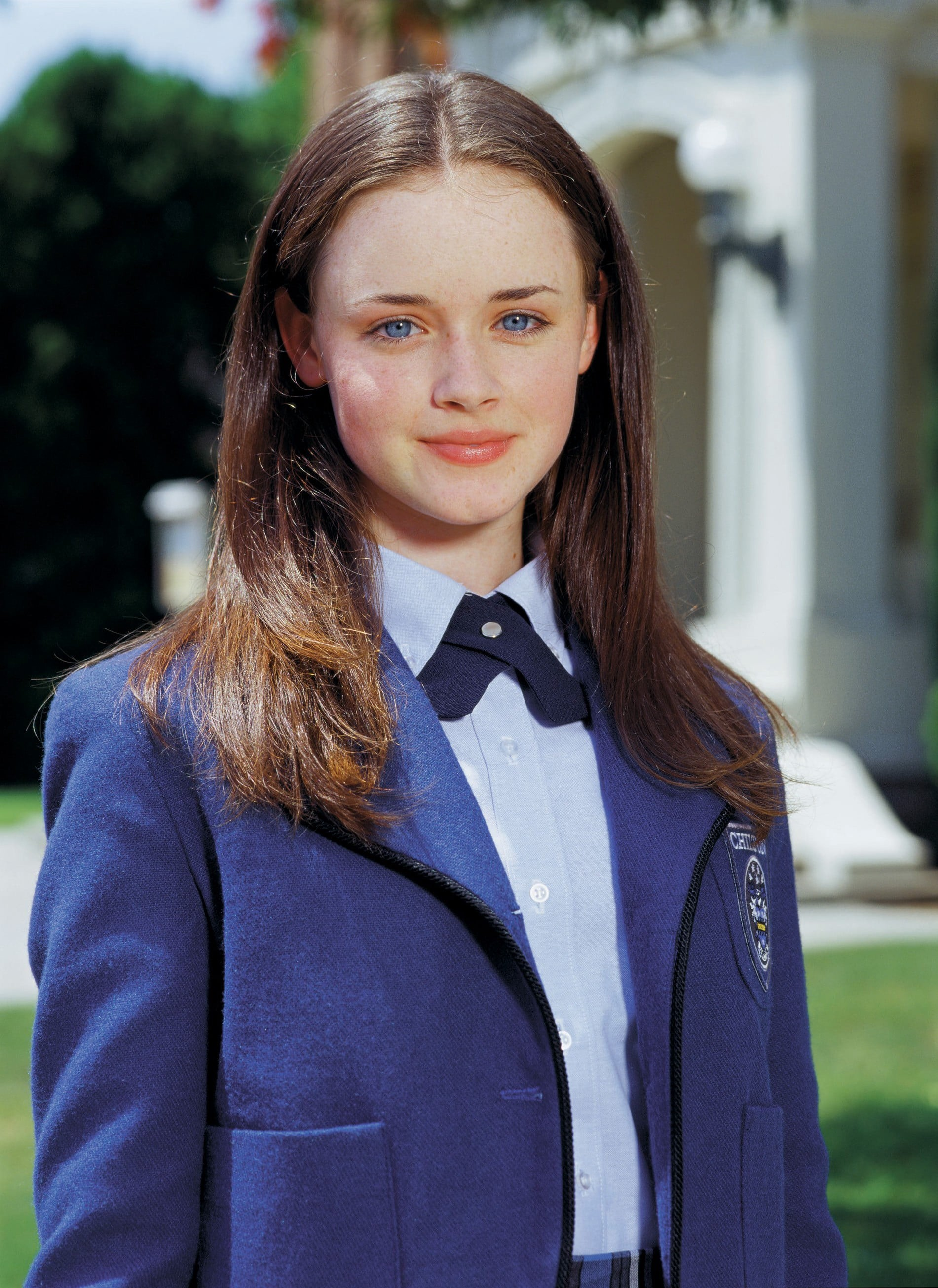 """A picture of Alexis Bledel as """"Rory Gilmore"""" on the hit TV series """"Gilmore Girls"""""""