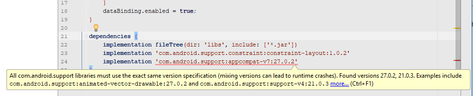 Android Gradle and the curious case of invisible dependency