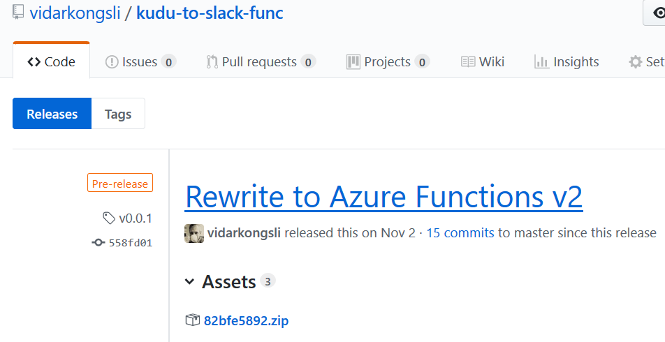 Running Azure Functions from a zip archive - bredvid