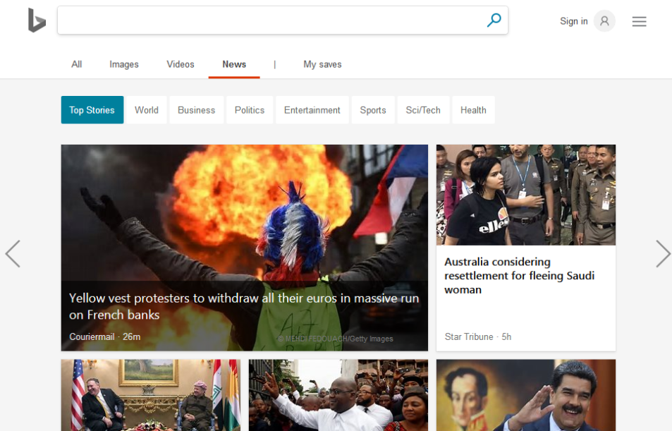 Top 10 Best News APIs: Google News, Bloomberg, BING News and