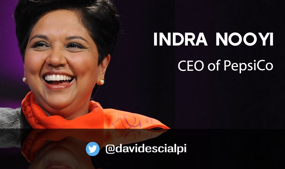 indra nooyi s quotes about success and leadership ceo of pepsico