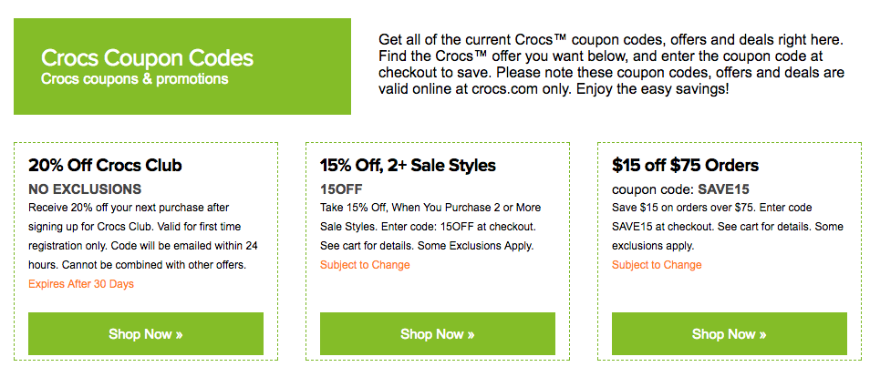 outlet online excellent quality new release How to Find a Working Crocs Promo Code, One Extremely ...