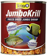 Tetra JumboKrill Freeze-Dried Shrimp Freshwater & Saltwater Fish Treats