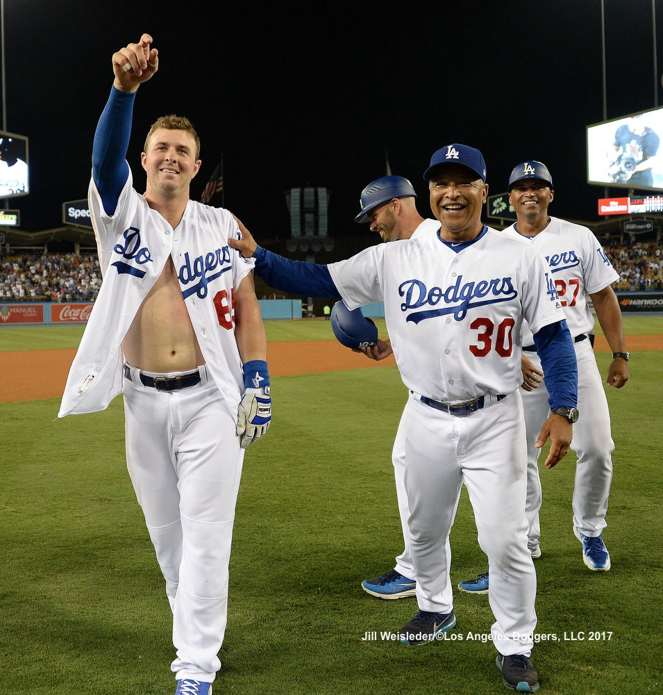 are the dodgers playing today
