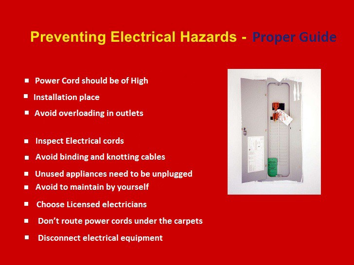 How to Prevent Electrical Hazard in workplace? - Amelia