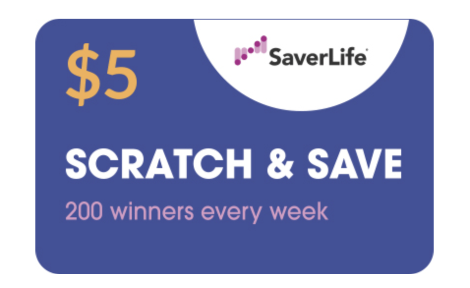 SaverLife Scratch & Save