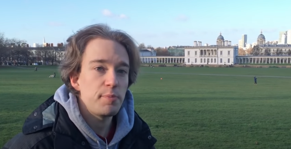 Tom Scott at the Prime Meridian in London