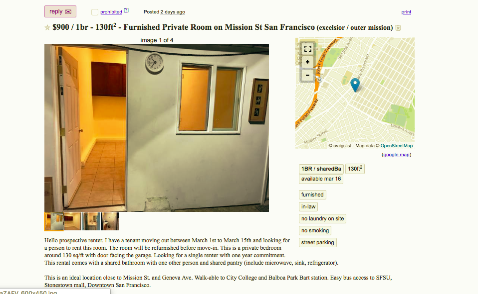 The Sketchiest Bay Area Apartments You Can Rent Now By Azucena Rasilla The Bold Italic