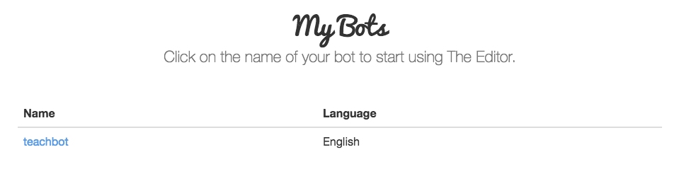 Pandorabots Will Change Your Life: Building a Chatbot and