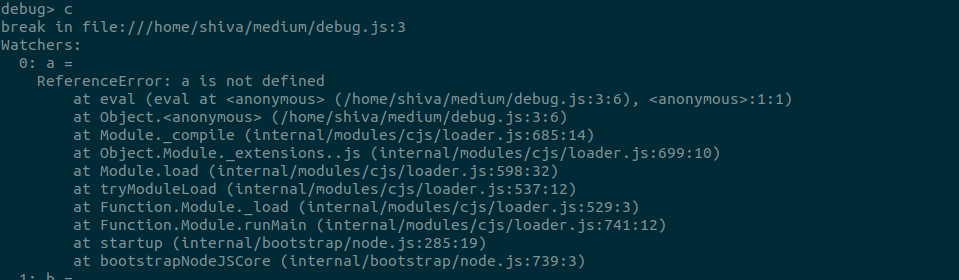 Debug your Node js App - Shiv kumar - Medium