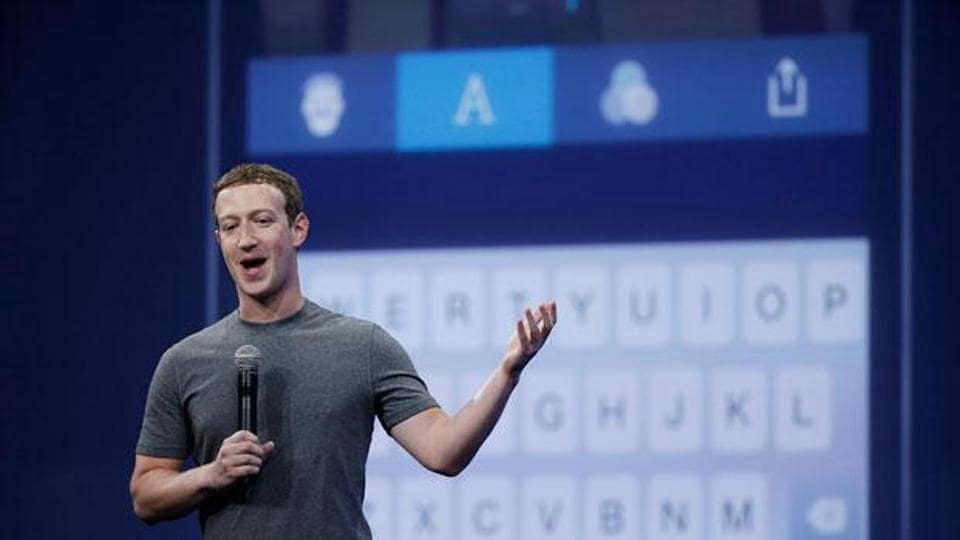 Mark Zuckerberg giving his views on Artificial Intelligence at in 2018 at Viva Technology conference.