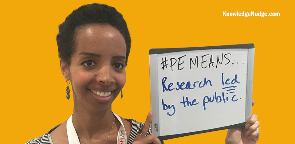 #PEmeans Research Led By the Public