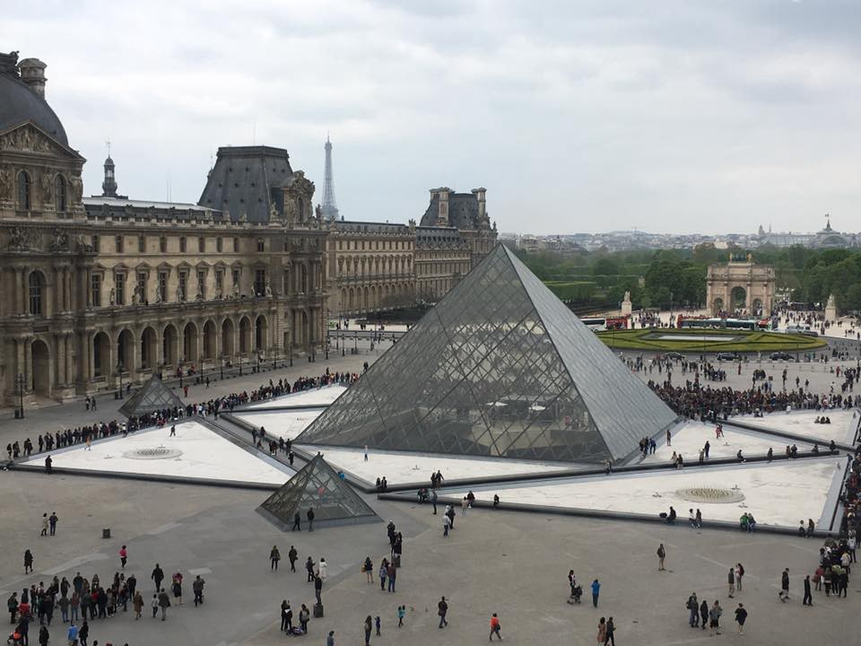 The Louvre Square