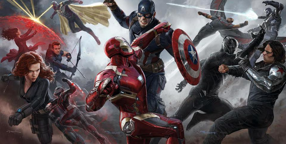 'Captain America: Civil War' concept art montage