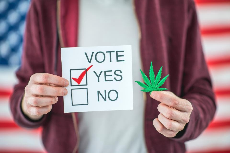 Voters take the high road. Support for recreational legalization is expected to spike in 2020.